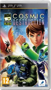 ben 10: ultimate alien - cosmic destruction - psp