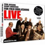 benny andersen og povl dissing - for fuld udblæsning - live cd + dvd - cd