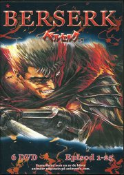 berserk vol. 1-6 - complete series - DVD