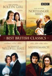best british classics - the other boleyn girl // northanger abbey // the tenant of wildfell hall // middlemarch - DVD