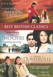 best british classics - vol 6 - far from the madding crowd // a tail of two cities // tess of the d'urbervilles - DVD