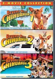 beverly hills chihuahua // beverly hills chihuahua 2 // beverly hills chihuahua 3 - DVD