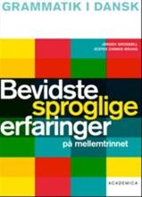 bevidste sproglige erfaringer på mellemtrinnet - bog
