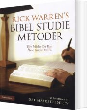 bibel studie metoder - bog