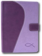 bibelen på hverdagsdansk, lilla m/magnetlås - bog