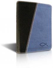 bibelen på hverdagsdansk, lomme, blåt skind - bog