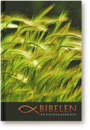 bibelen på hverdagsdansk, softcover med slipcase - bog