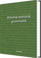 bibelsk-hebraisk grammatik - bog
