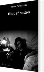 bidt af natten - bog