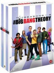 the big bang theory - sæson 1-9 - DVD