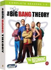 the big bang theory - the beginning - sæson 1-3 - DVD