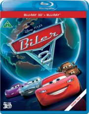 cars 2 / biler 2 - disney - 3D Blu-Ray