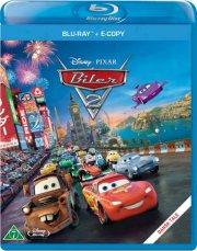 biler 2 / cars 2 - disney  - BLU-RAY+E-COPY