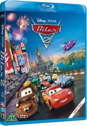 biler 2 / cars 2 - steel book - disney pixar - Blu-Ray