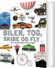 biler, tog, skibe og fly - bog
