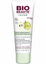 bio beauté by nuxe - anti-pollution gentle exfoliating gel 60 ml - Hudpleje