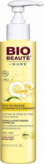 bio beauté by nuxe toning & moisturizing shower oil - 100 ml - Hudpleje