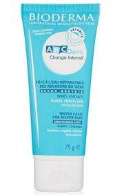 bioderma - abcderm water paste creme mod bleudslæt 75g - Hudpleje