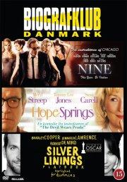 silver linings playbook // nine // hope springs - DVD
