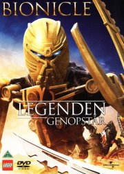 bionicle - the legend reborn - lego - DVD