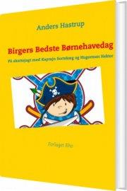 birgers bedste børnehavedag - bog