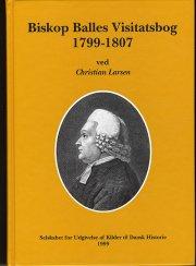 biskop balles visitatsbog 1799-1807 - bog