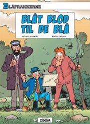 blåfrakkerne: blåt blod til de blå - Tegneserie