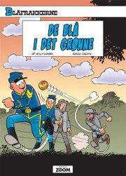 blåfrakkerne: de blå i det grønne - Tegneserie
