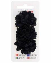 hårnæb med blomst - sort - Hårpleje