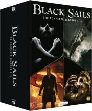 black sails - sæson 1-4 - DVD