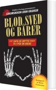 blod, sved og bårer - bog