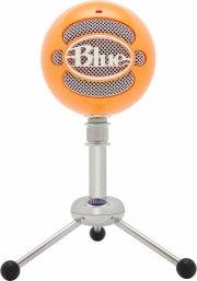 blue snowball mikrofon - orange - Tv Og Lyd