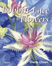 bobbin lace flowers - bog