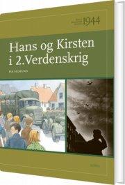børn i danmarks historie 1944, hans og kirsten i 2. verdenskrig - bog