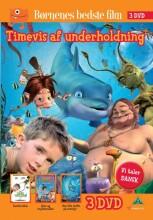 sandtrolden // den lille delfin på eventyr // sisse og trylletrolden - DVD