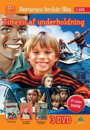 kidnapning // tre engle og fem løver // flemming på kostskole - DVD