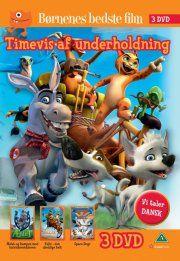 space dogs // felix - den uheldige helt // æslet og kampen mod halvmåneridderen - DVD