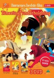 kirikou og de vilde dyr // solens prinsesse // azur og asmar - DVD