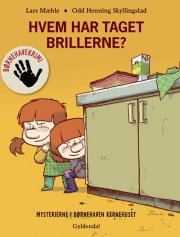 børnehavekrimi: hvem har taget brillerne? - bog