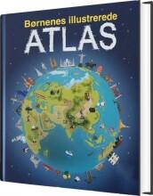 børnenes illustrerede atlas - bog