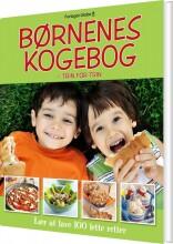børnenes kogebog - trin for trin - bog