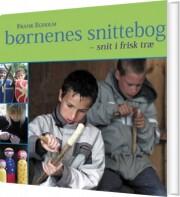 børnenes snittebog - bog