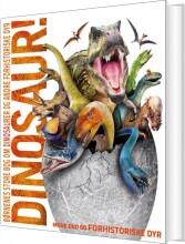 børnenes store bog om dinosaurer og andre forhistoriske dyr - bog