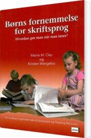 børns fornemmelse for skriftsprog - bog