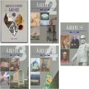 århus - byens historie - bind 2-5 + middelalderbyen århus - bog