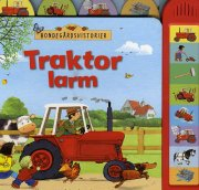 traktor larm med lyd - bondegårdshistorier  - bog