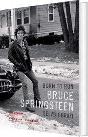 born to run - selvbiografi 2016 - bog