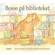 bosse på biblioteket - bog