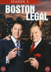 Image of   Boston Legal - Sæson 5 - DVD - Tv-serie