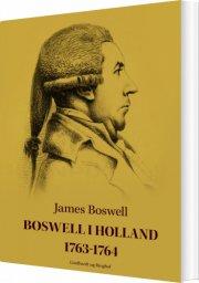boswell i holland 1763-1764 - bog